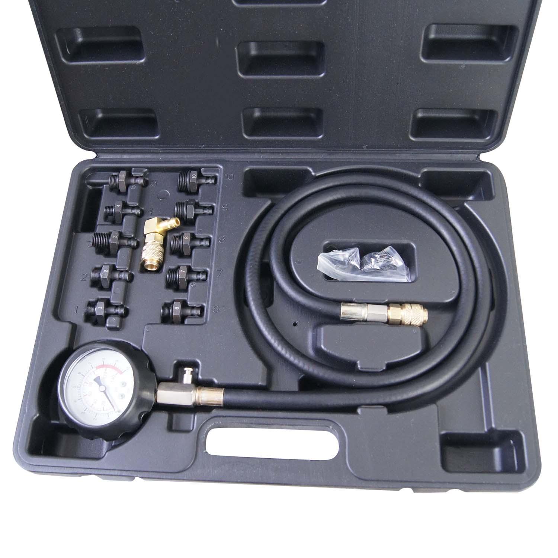 449851 huile moteur test de pression kit testeur set outil de r glage bas huile ebay. Black Bedroom Furniture Sets. Home Design Ideas