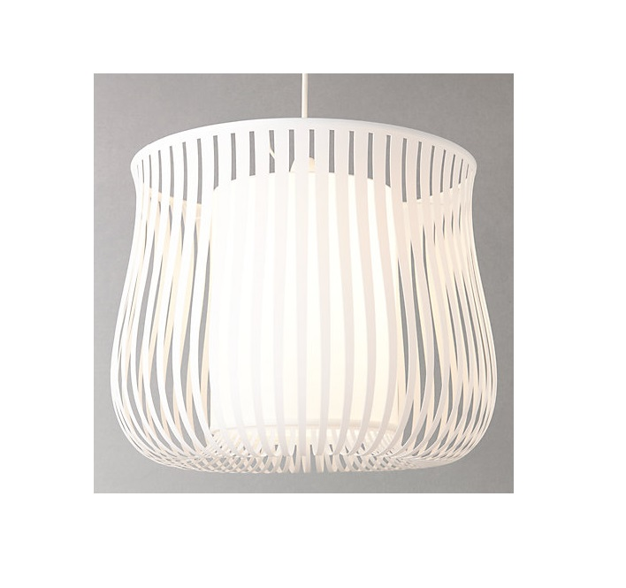 John Lewis White Ceiling Lights : Ex john lewis harmony maestro ribbon ceiling light pendant