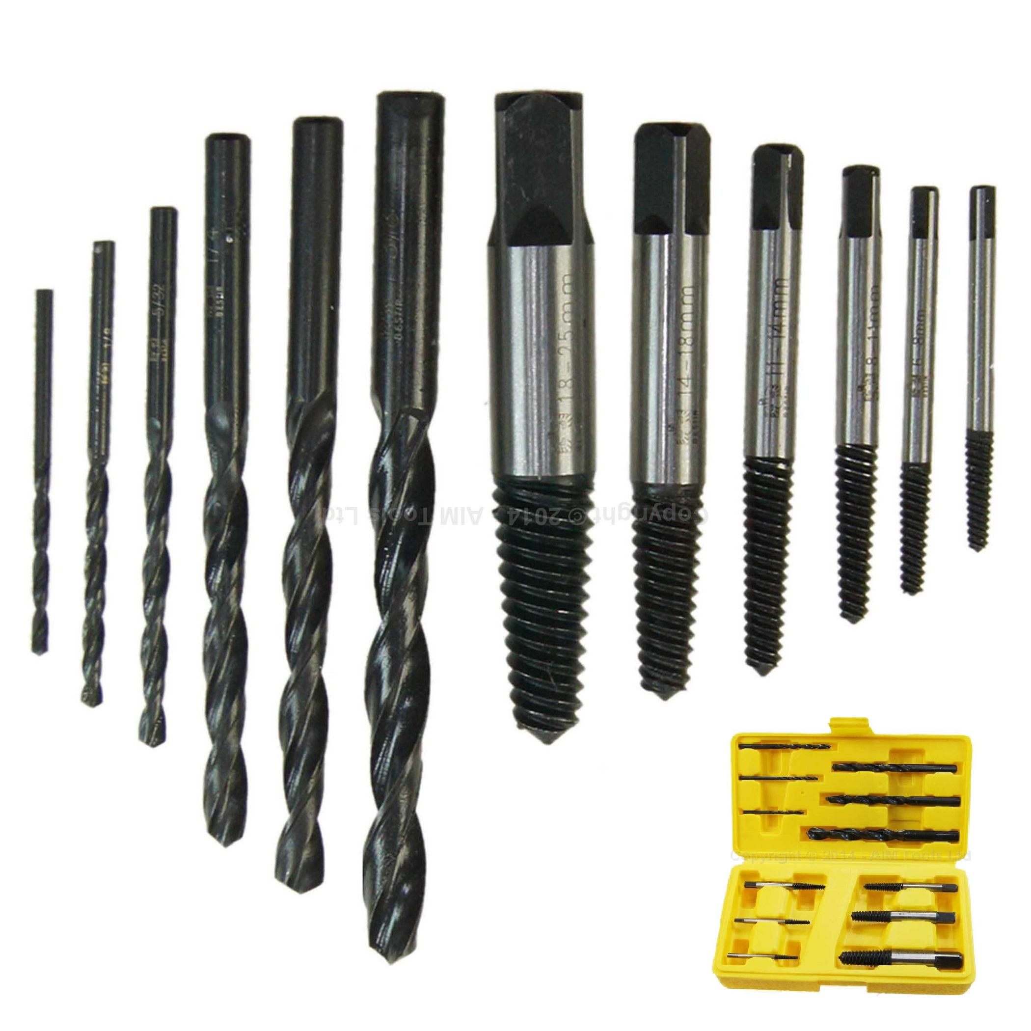 40410513 12 unidades roto tornillo extractor del perno removedor - Extracteur de vis cassee ...