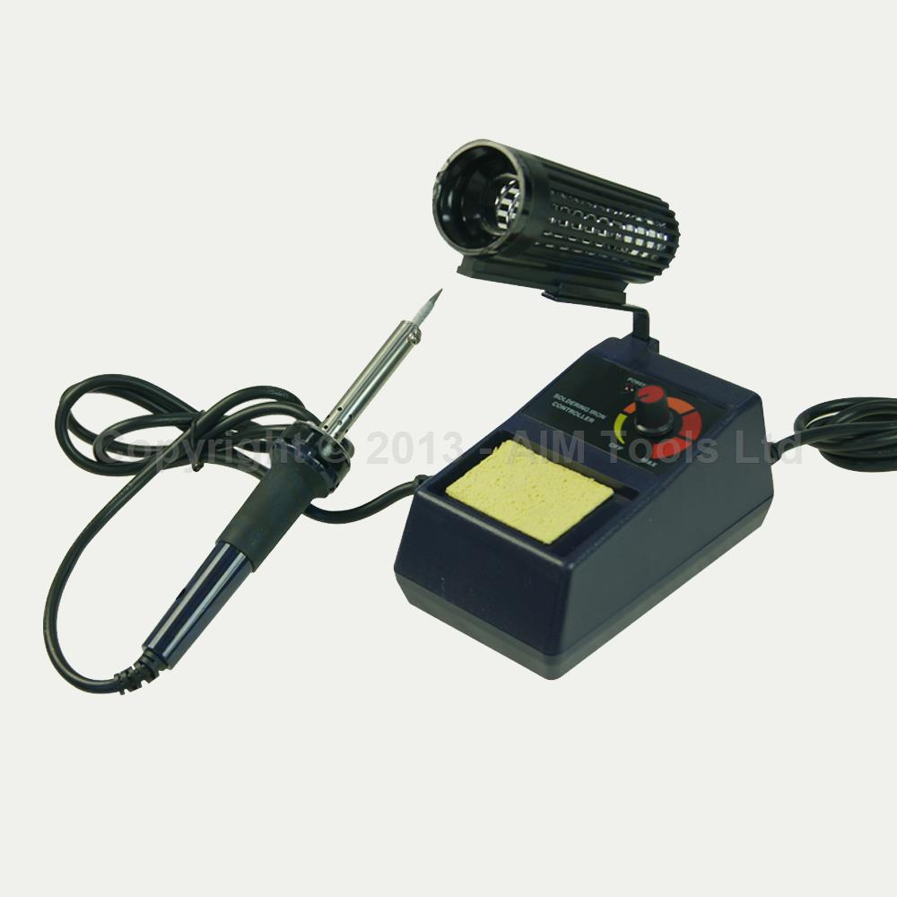 312088 50w variable temperature soldering station iron kit stand mobile repair ebay. Black Bedroom Furniture Sets. Home Design Ideas