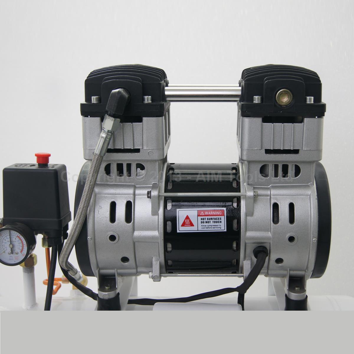 241185 Silent Type Air Compressor 65db 220v 1100w 50l For