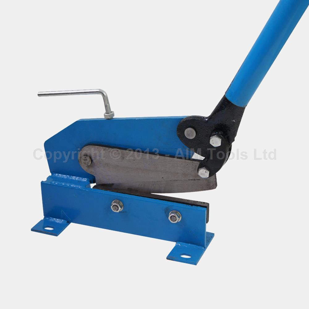 325362 Heavy Duty 200mm Manual Plate Flat Metal Steel