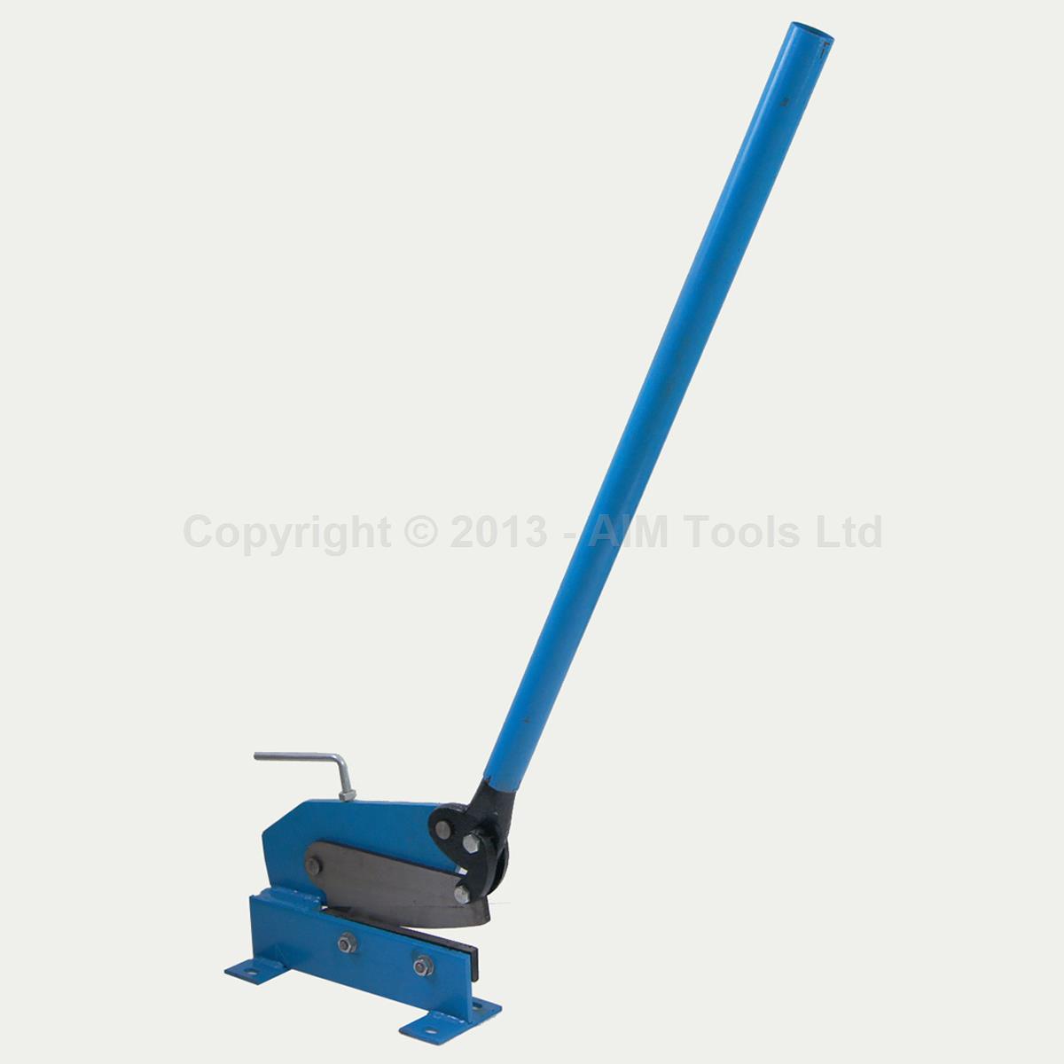 Steel Shear Metalworking New Zealand: 325362 Heavy Duty 200mm Manual Plate Flat Metal Steel