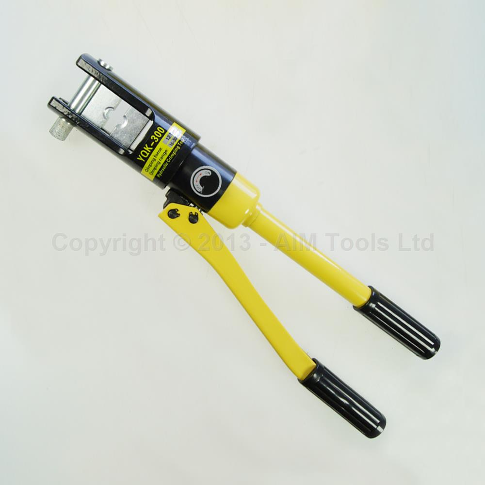 manual hydraulic electric cable wire terminal crimping tool die set 300mm 416374 ebay. Black Bedroom Furniture Sets. Home Design Ideas