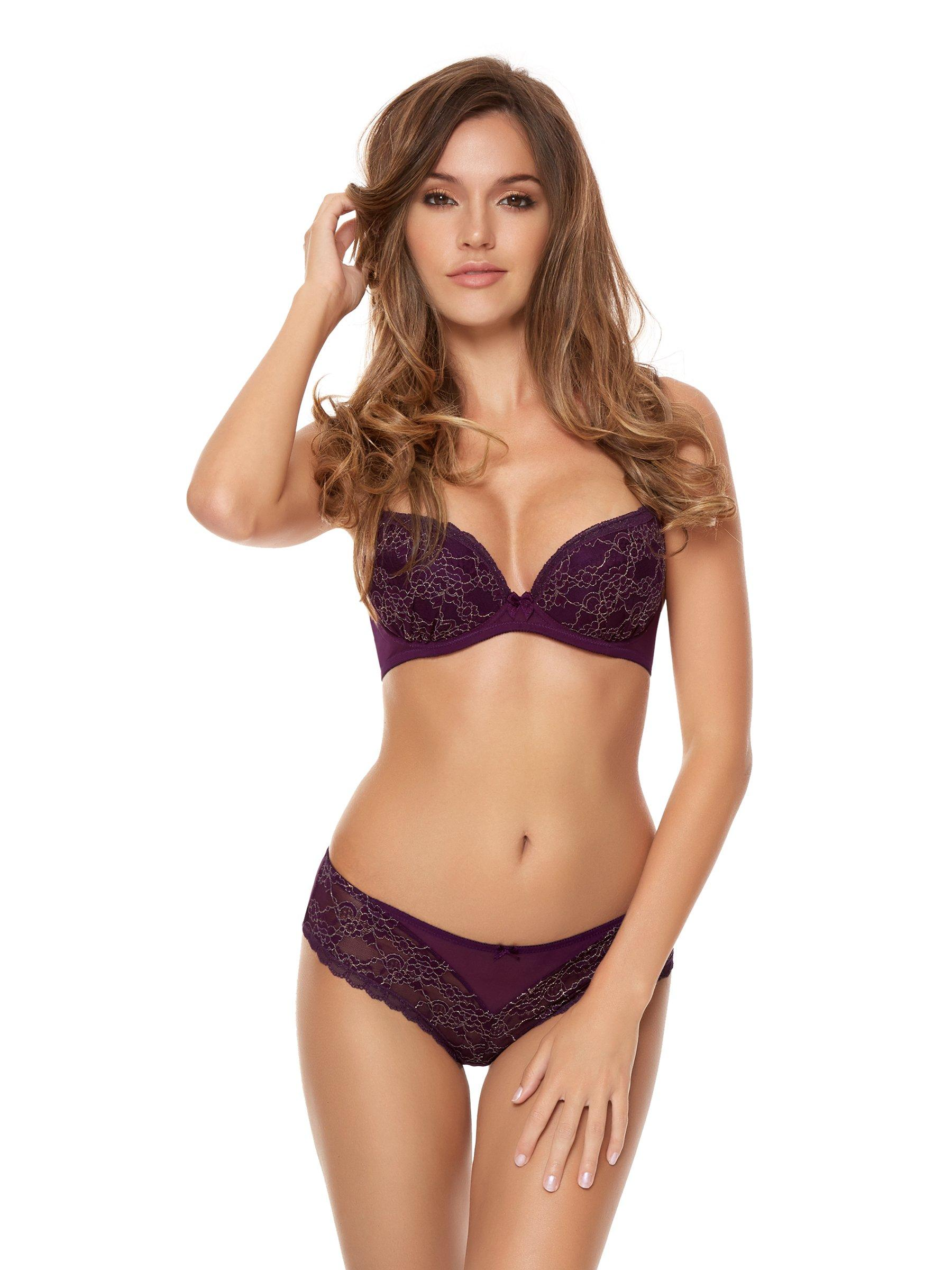 Sexy Purple Lingerie 7