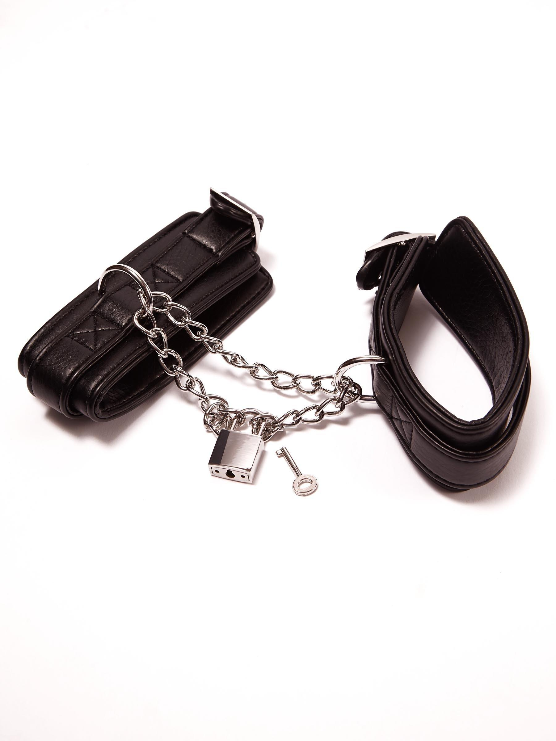 summers ankle buckle cuffs bondage restraints fetish bedroom accessory