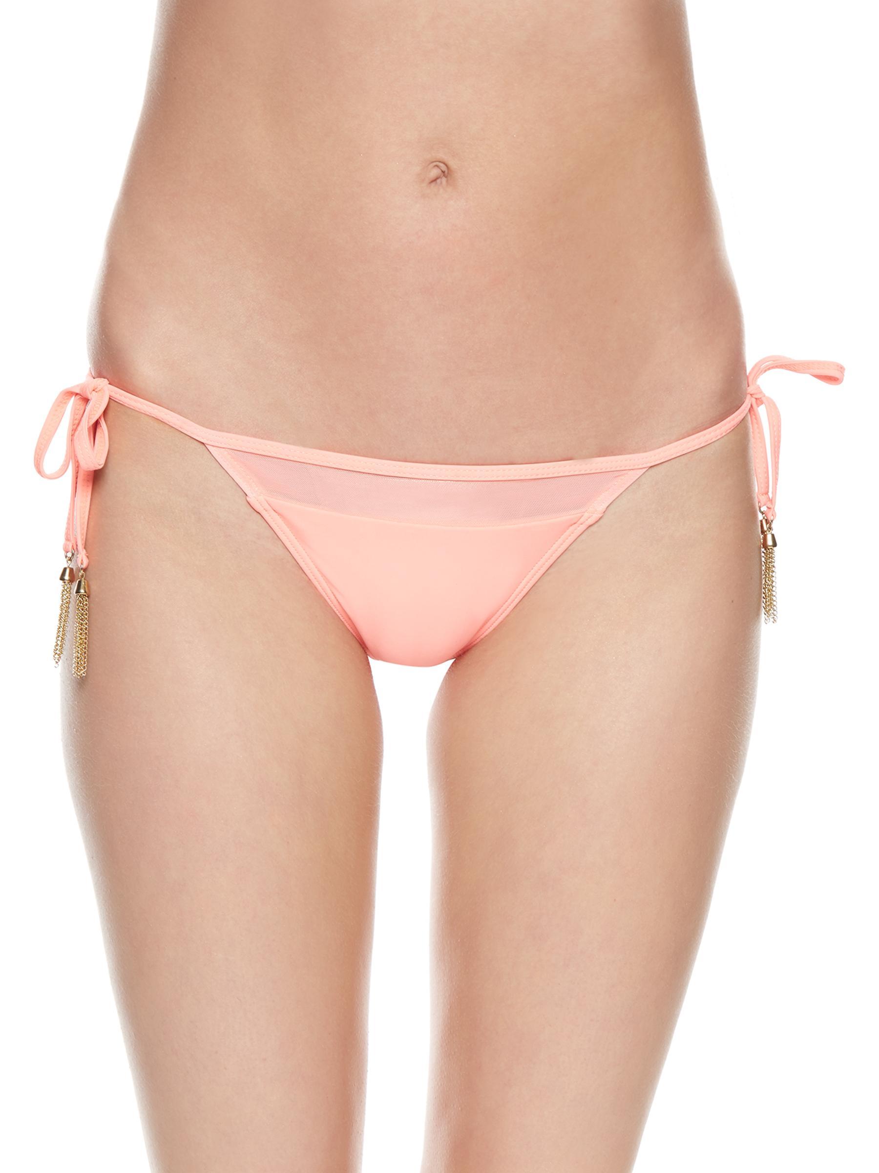 Peach bikini swim