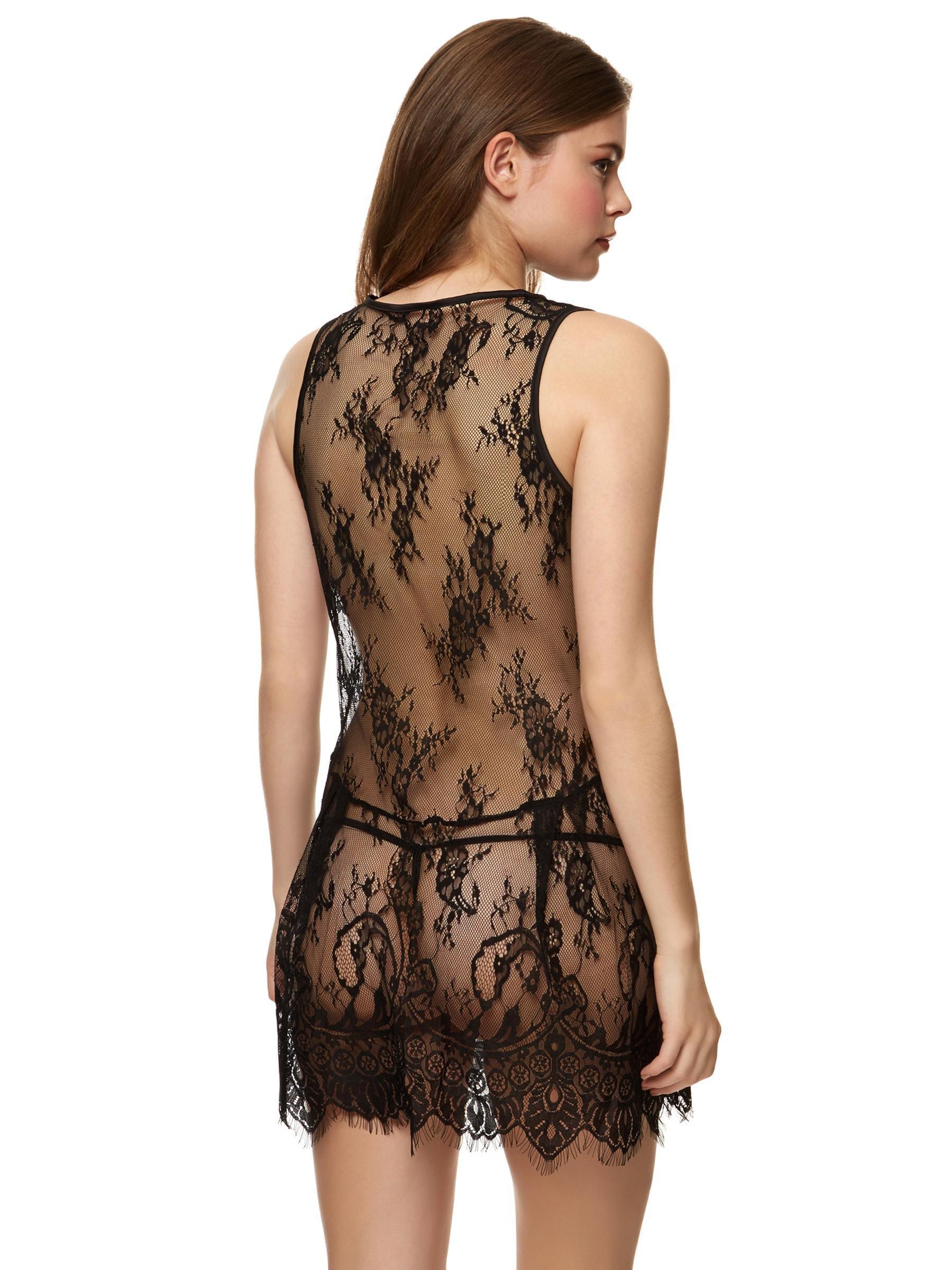 Ann Summers Womens Italia Slip Sexy High Cut Lace Erotic Lingerie ...