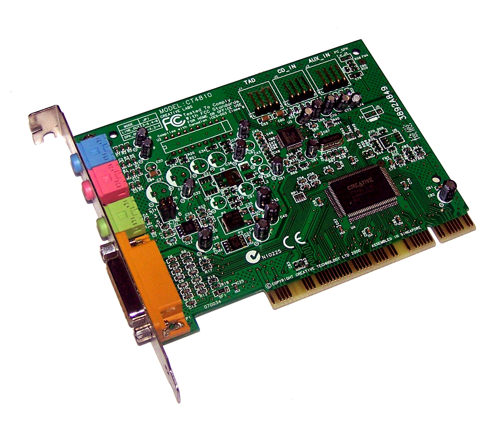 Creative CT4810 drivers - Nodevice