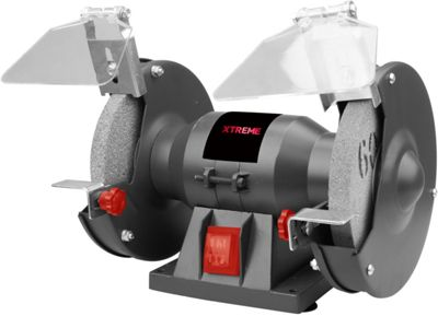 Xtreme 150W Bench Grinder - Metal Shaping, Smoothing And Polishing