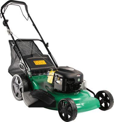 qualcast 56cm self propelled petrol rotary lawn mower. Black Bedroom Furniture Sets. Home Design Ideas