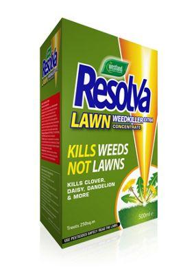 resolva lawn weed killer concentrate 500ml ebay. Black Bedroom Furniture Sets. Home Design Ideas