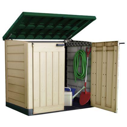 Keter Store It Out Outside Garden Storage Up To 2 Wheelie Bins Storage EBay