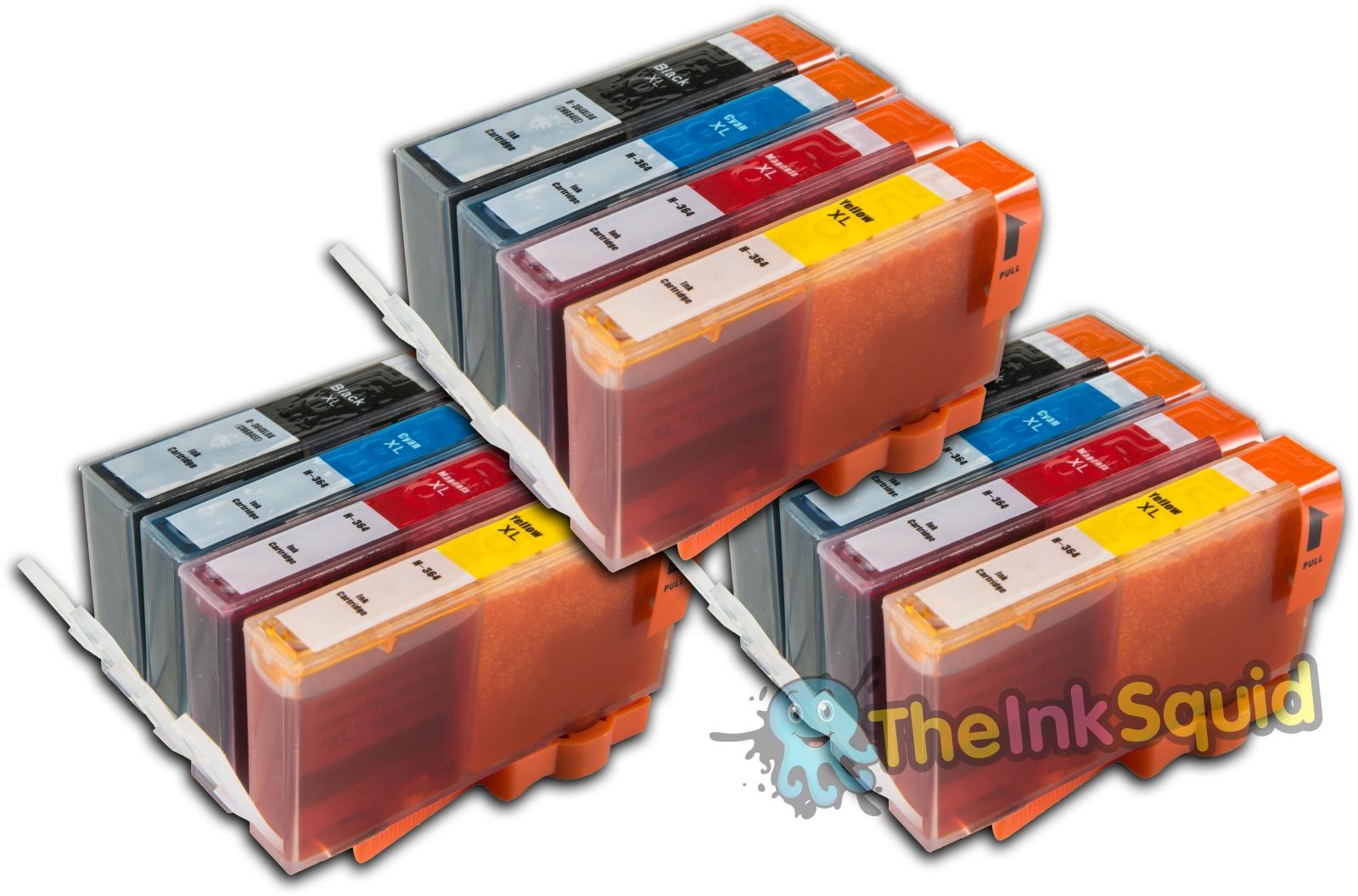 12-Compatible-HP364XL-Non-oem-Ink-Cartridges