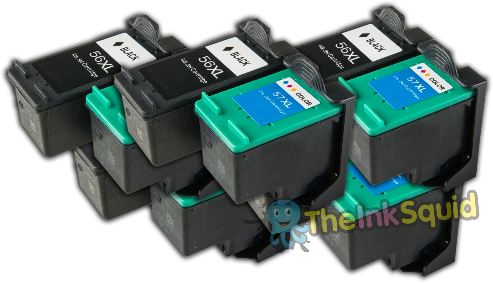 10-Compatible-HP56-57-Non-oem-Ink-Cartridges
