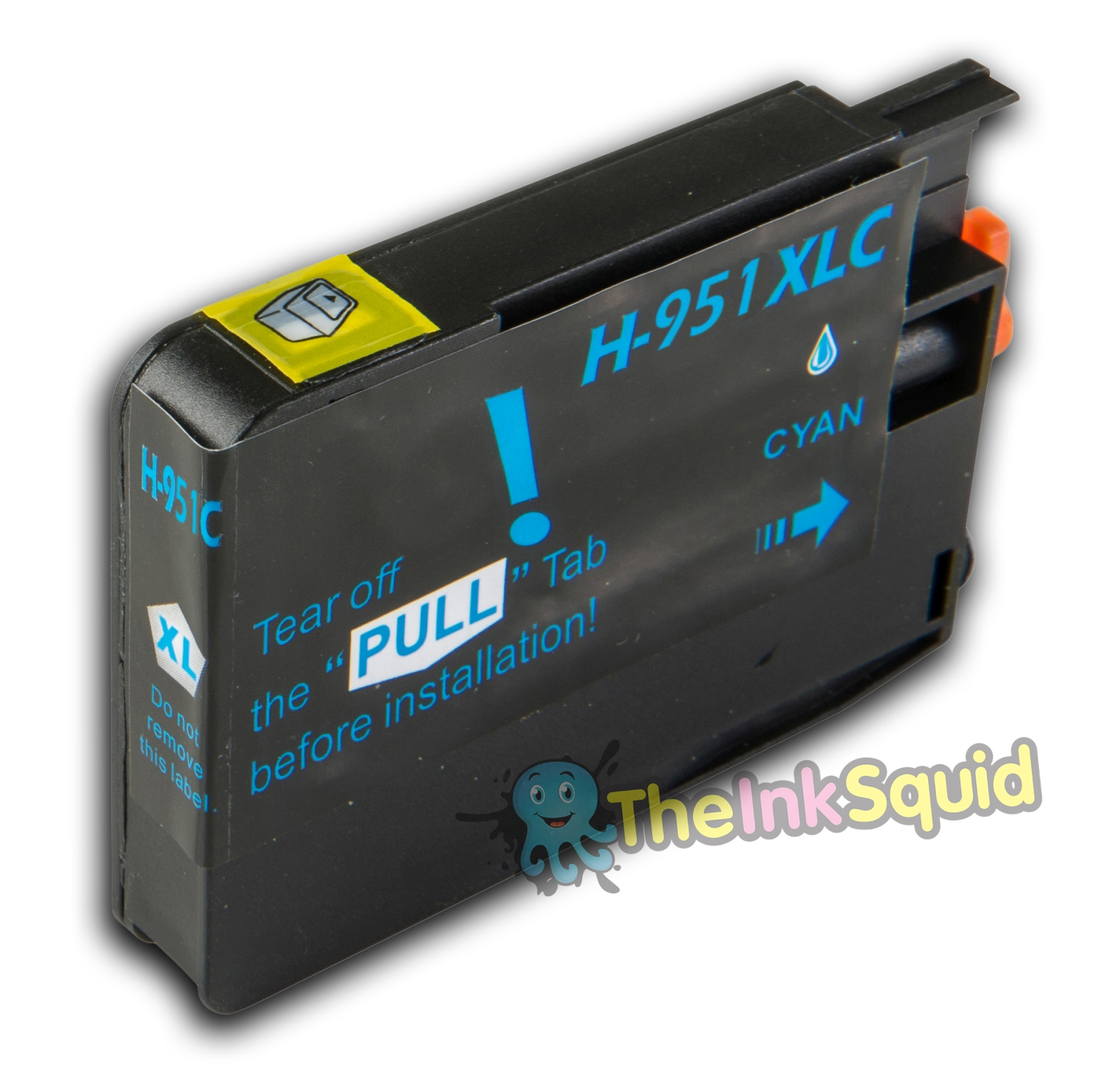 cyan blue hp 951 xl chipped compatible ink cartridge. Black Bedroom Furniture Sets. Home Design Ideas