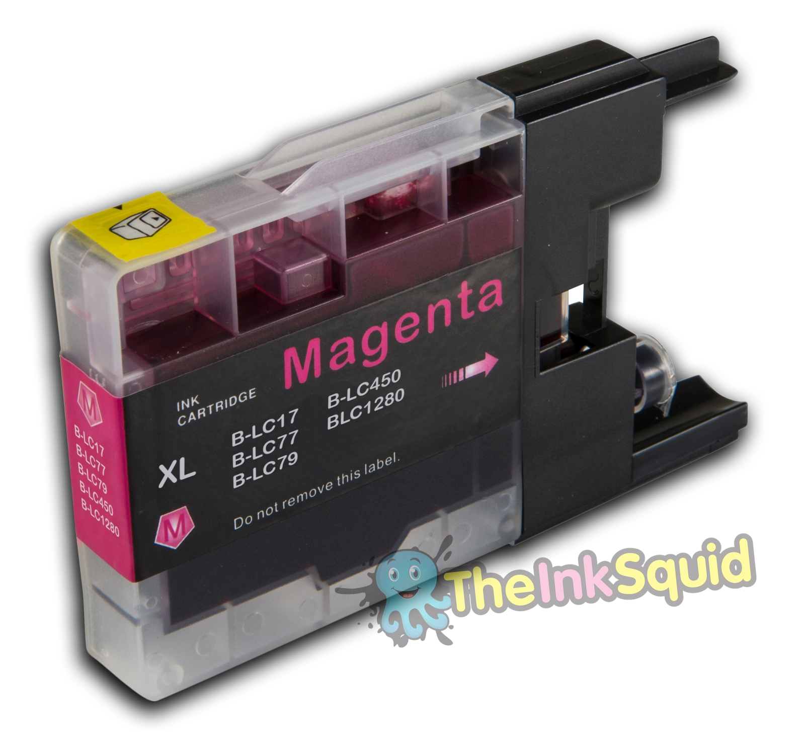Compatible Magenta/Red LC1280XL Ink Cartridge with chip for Brother MFC Printers