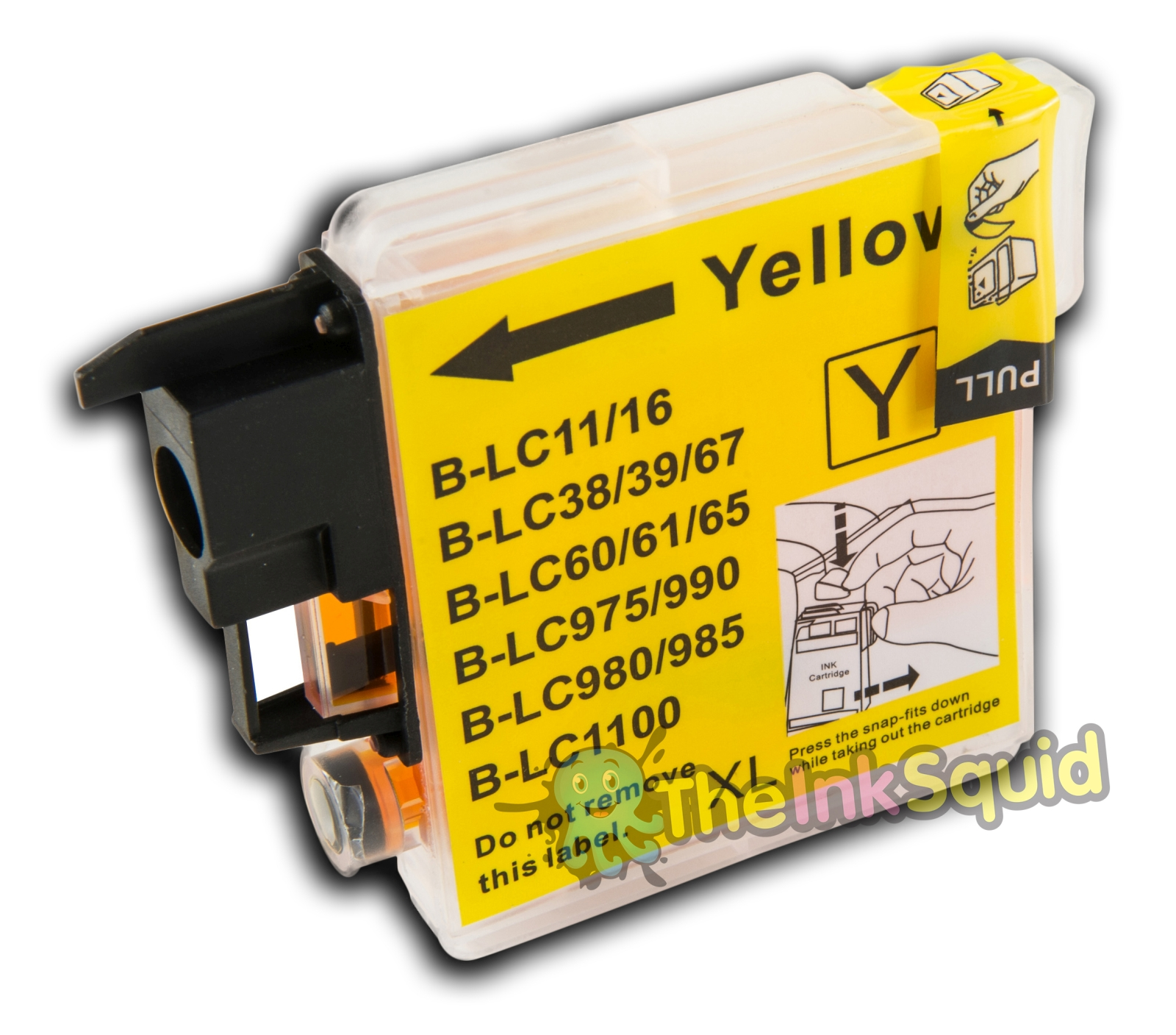 how to open brother ink cartridge