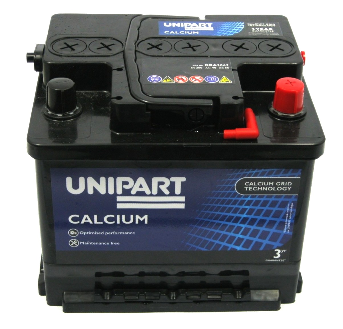 genuine unipart car battery renault megane classic 1 4 16v 1 6 16v ebay. Black Bedroom Furniture Sets. Home Design Ideas