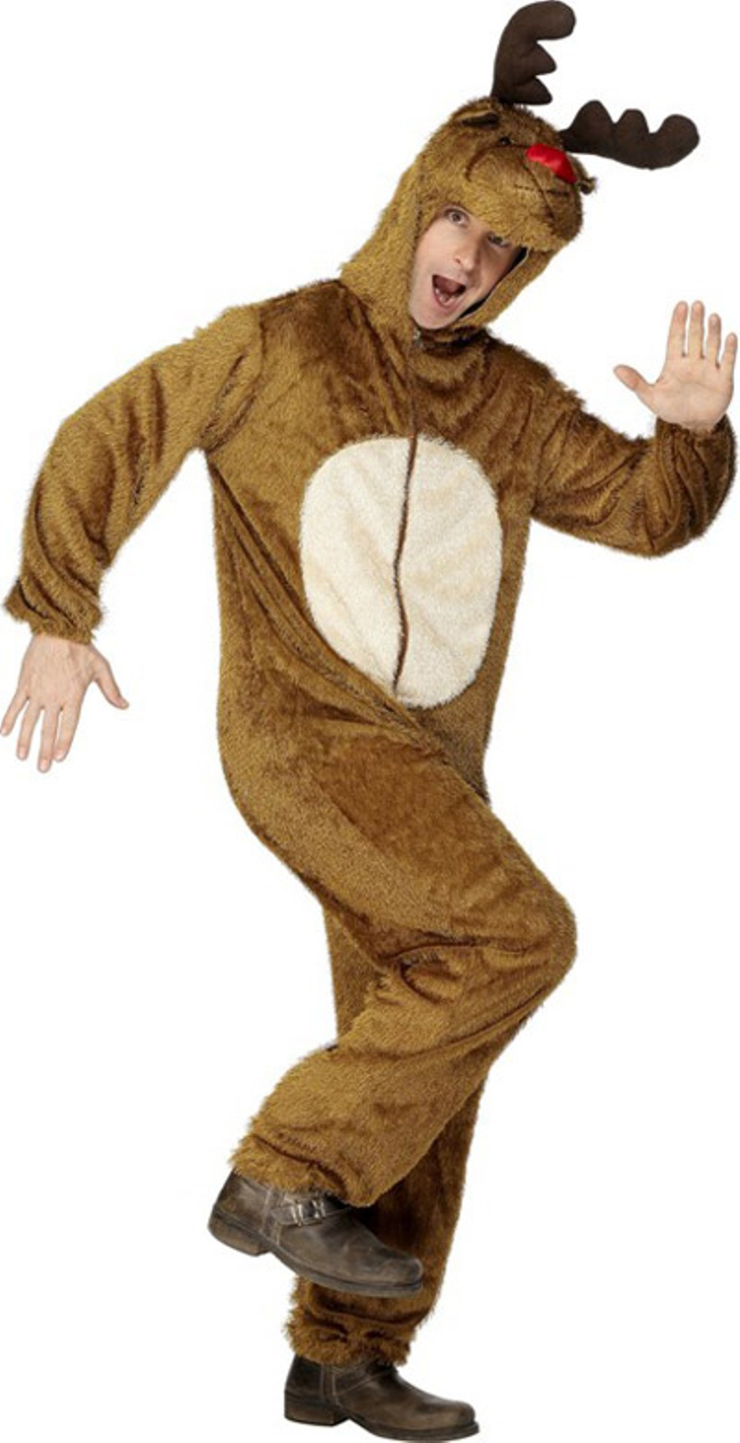 Reindeer outfit fancy dress party costume christmas outfit rudolf look