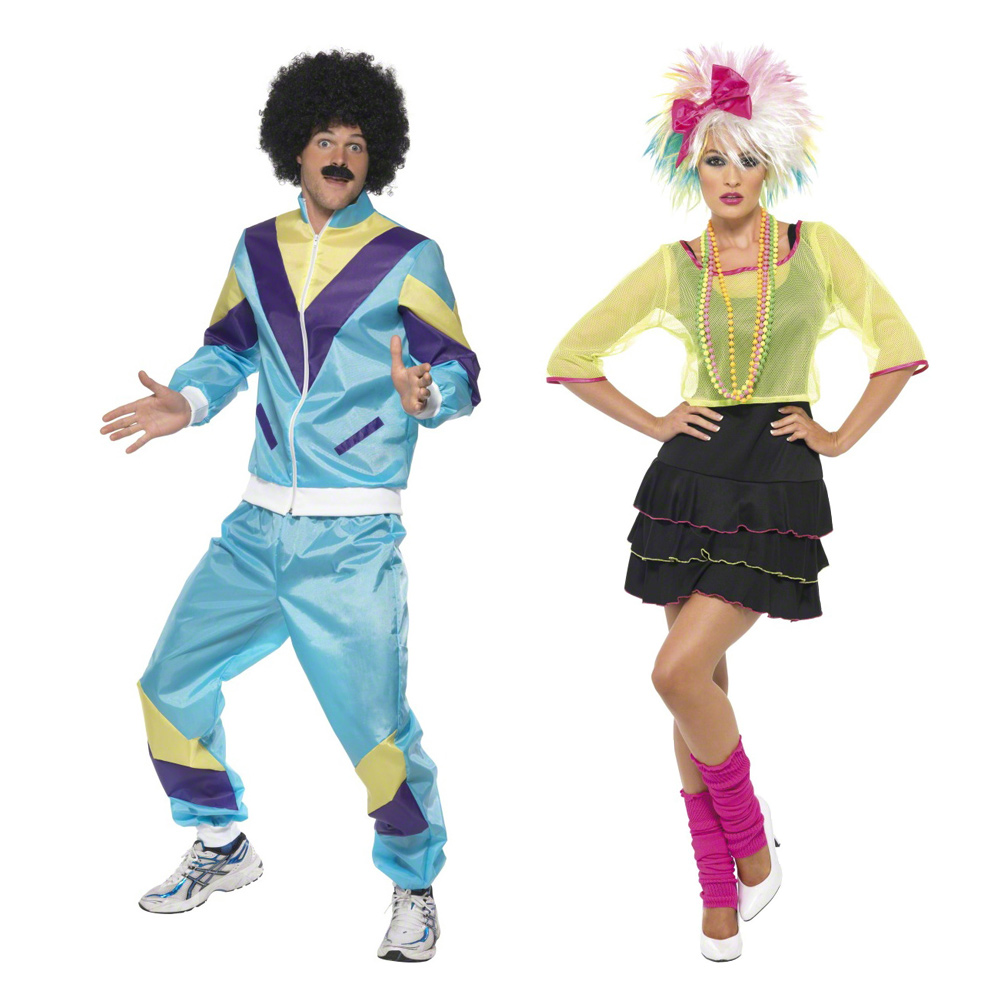 80s fancy dress costumes for couples