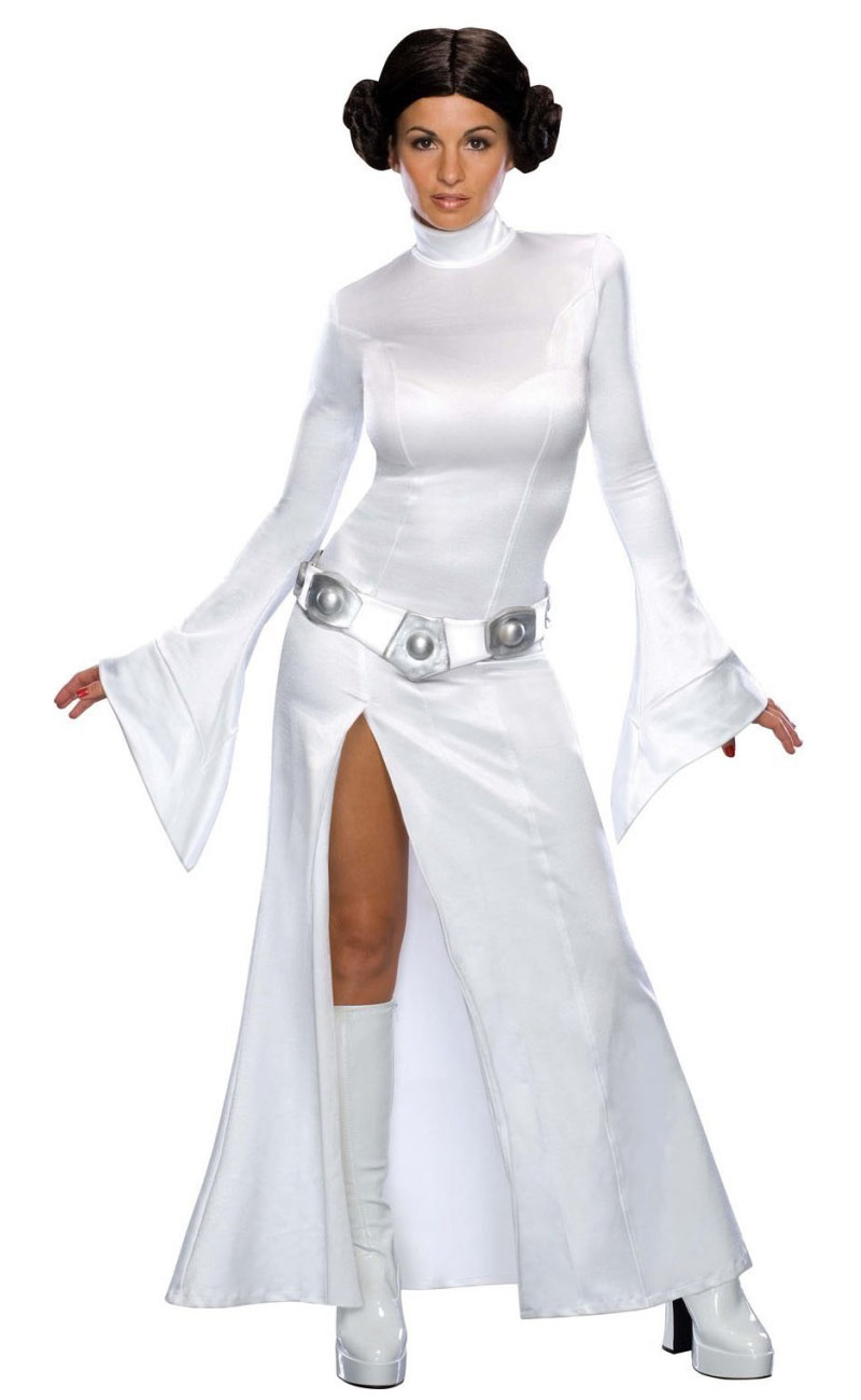 princess leia costume wars themed fancy dress ebay