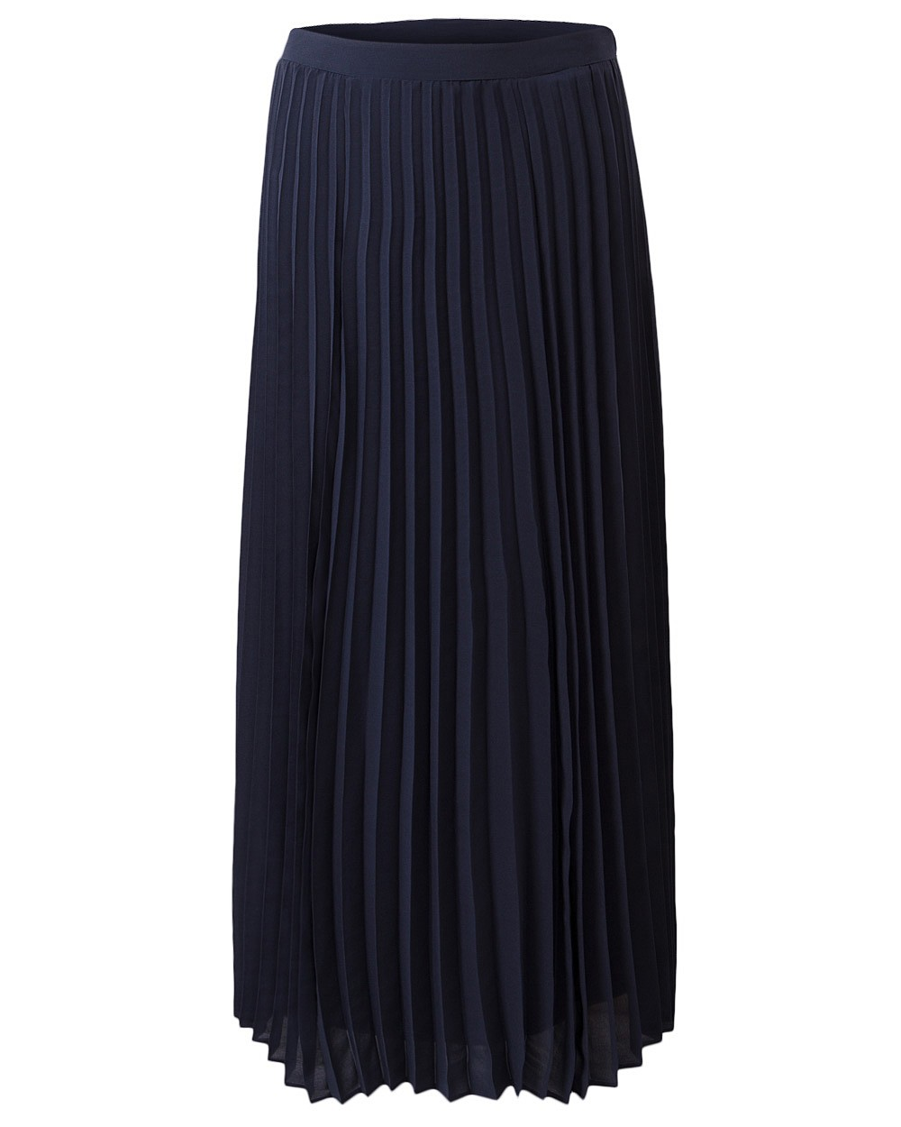 east womens casual sunray pleat maxi skirt calf length