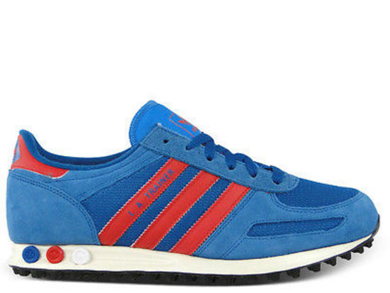 Adidas La Trainer Red Blue