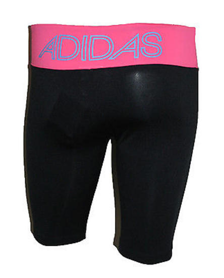 Womens Adidas Karma Ultra Black Gym/Dance Knee Length
