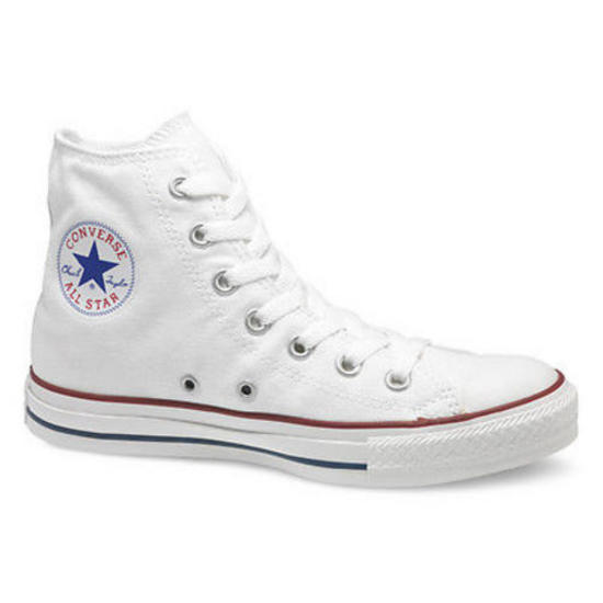 New-Mens-Womens-Converse-Allstar-All-Star-Core-Hi-White-Canvas-Trainers-UK-3-11