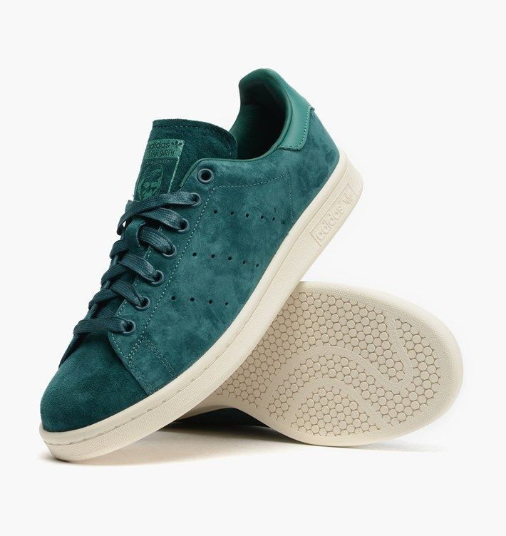 La Moda Smith Ba92f Dbd59 Nuove Adidas Originali Uomo Stan Smith Moda Ricco Di Verde b8e954
