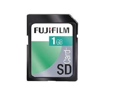 FUJIFILM 1GB SD FUJI MEMORY CARD