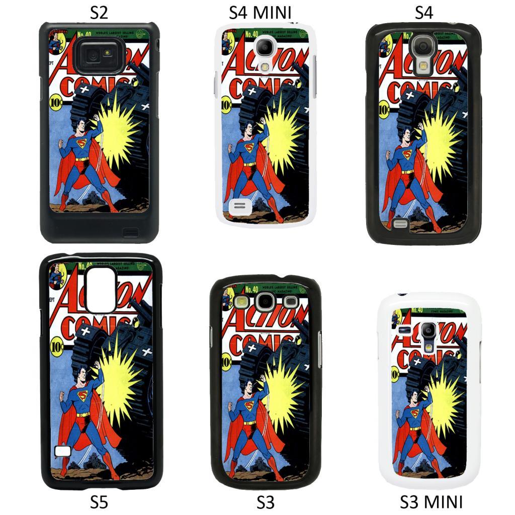 DC Marvel Superhero Comic Book Cover Case For Samsung