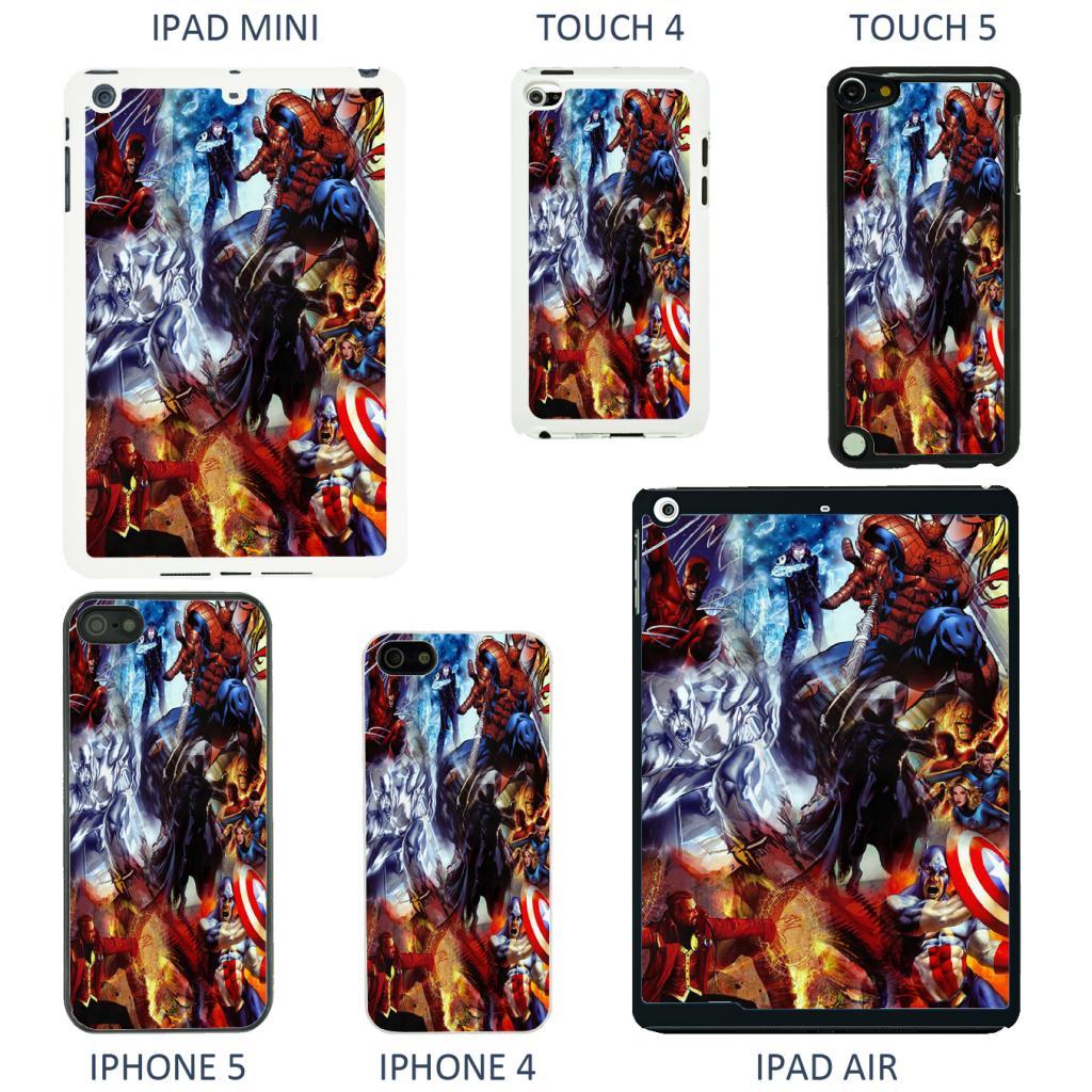 Marvel-superhero-comic-book-cover-case-for-Apple-iPhone-iPod-iPad-No-4