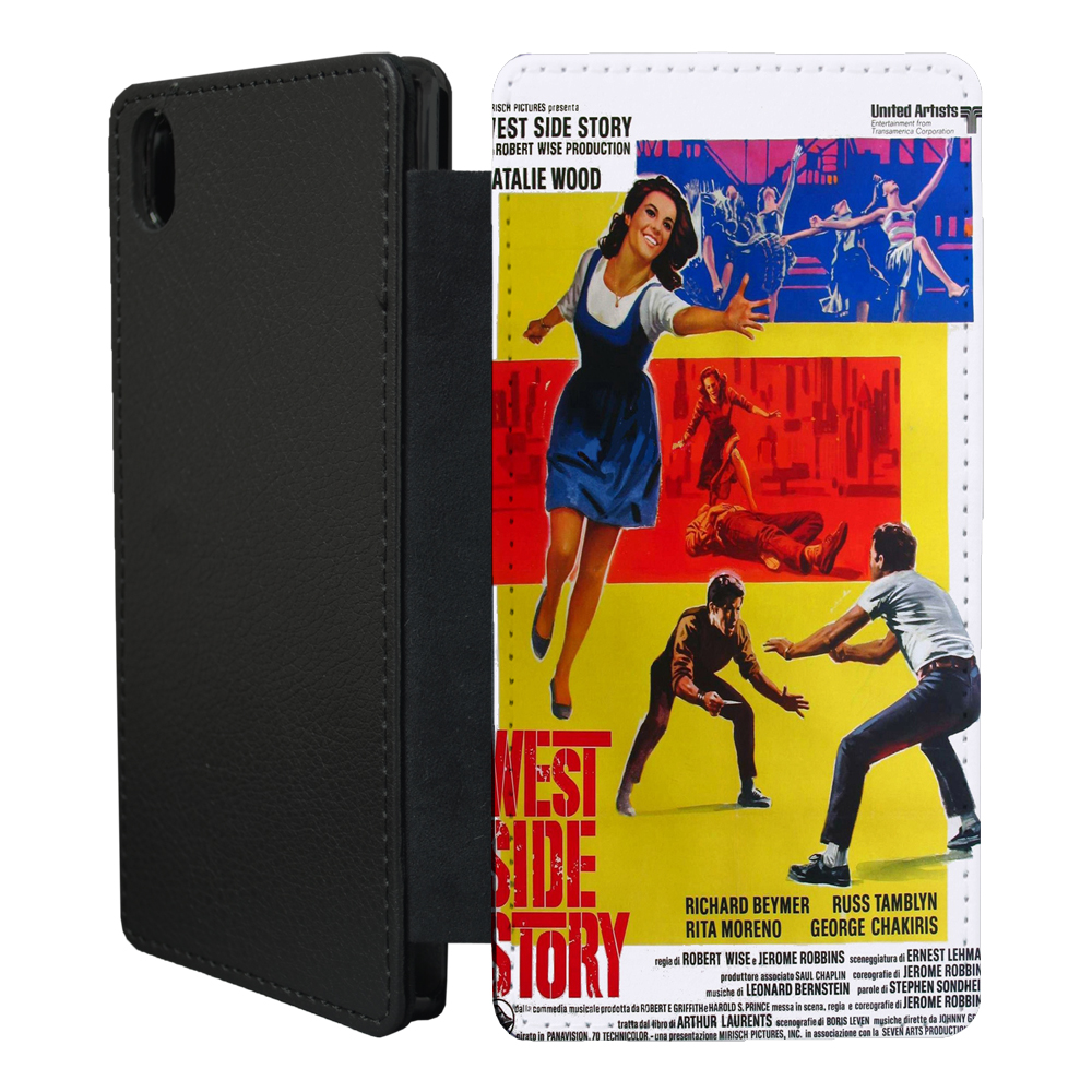Film Posters Flip case cover for Sony Xperia Z - T40