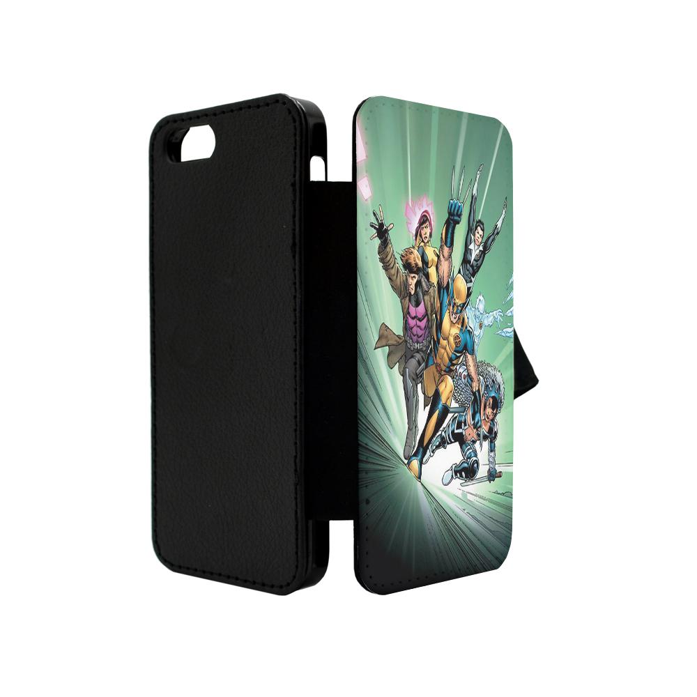DC-MARVEL-SUPERHERO-COMIC-BOOK-FLIP-CASE-COVER-FOR-APPLE-IPHONE-IPOD-IPAD-TF