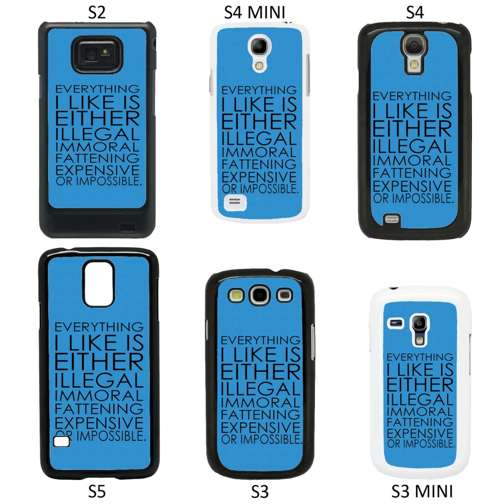 life sayings quotes cover case for all samsung galaxy. Black Bedroom Furniture Sets. Home Design Ideas
