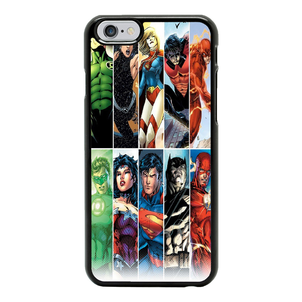 DC Marvel Superhero Comic Book Cover Case For Apple IPhone