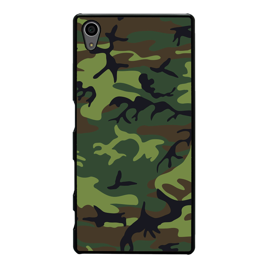 Army-Camo-Camoflage-cover-case-for-Sony-Xperia-Phone-G24