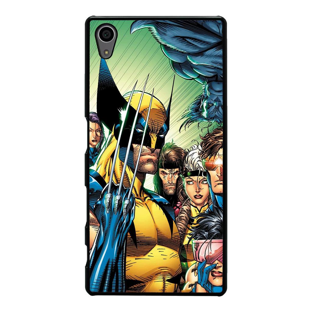 DC Marvel Superhero Comic Book Cover Case For Sony Xperia