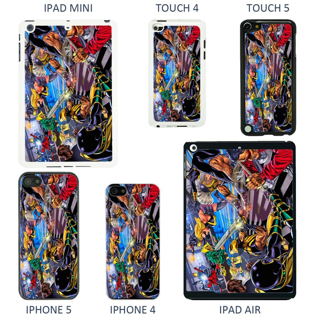 DC Marvel Comic Book Cover Case For Apple IPhone IPod
