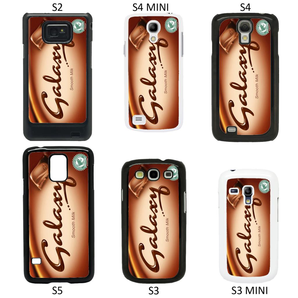 Chocolate Wrappers cover case for Samsung Galaxy S2 S3 S4 S5 Mini ...