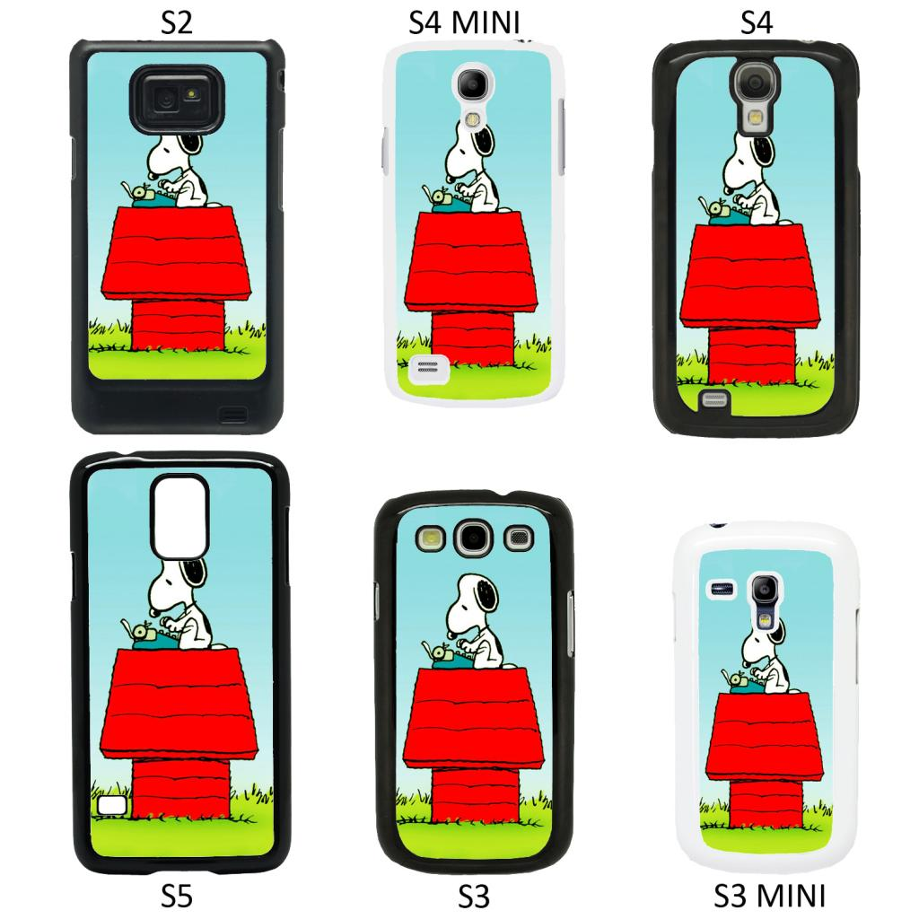 snoopy cartoon cover case for samsung galaxy s2 s3 s4 s5. Black Bedroom Furniture Sets. Home Design Ideas