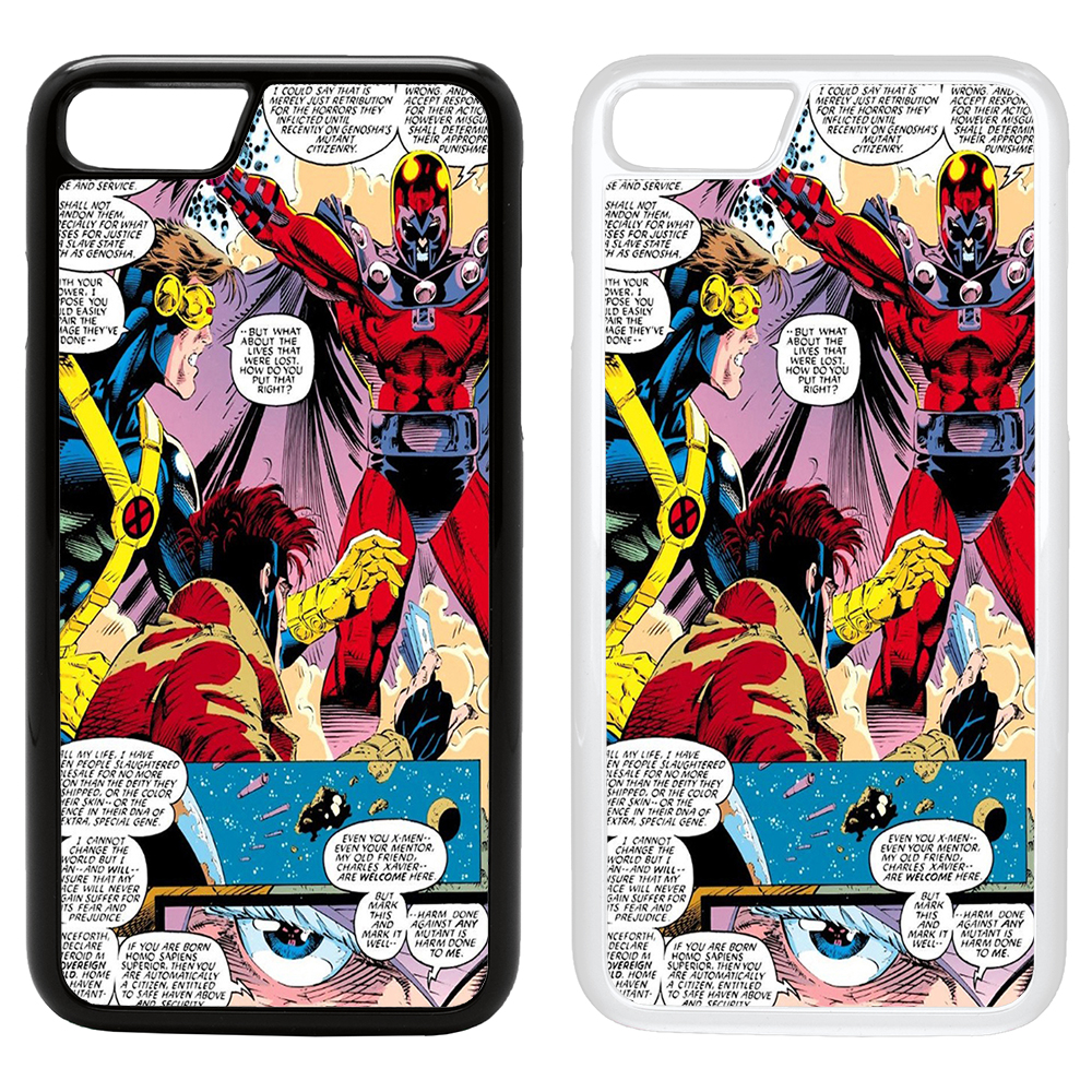 DC Marvel Comic Book Strips Cover Case For Apple IPhone
