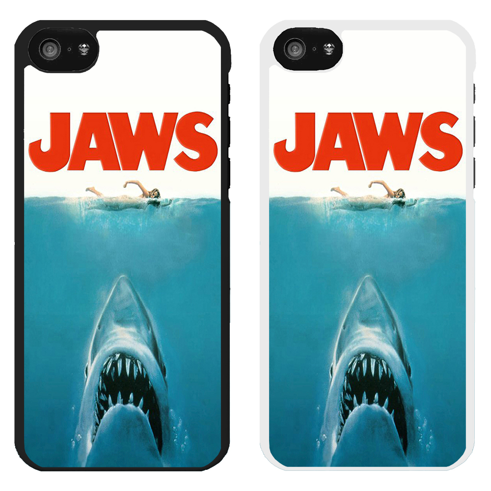 Classic Movie Poster Printed PC Case Cover - Jaws - S ...