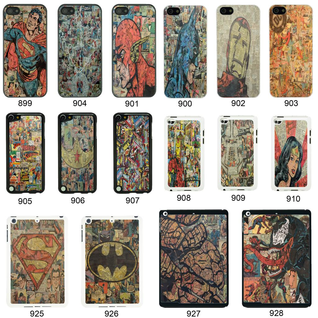 DC MARVEL COMIC BOOK COVER CASE FOR APPLE IPHONE IPOD AND IPAD No5