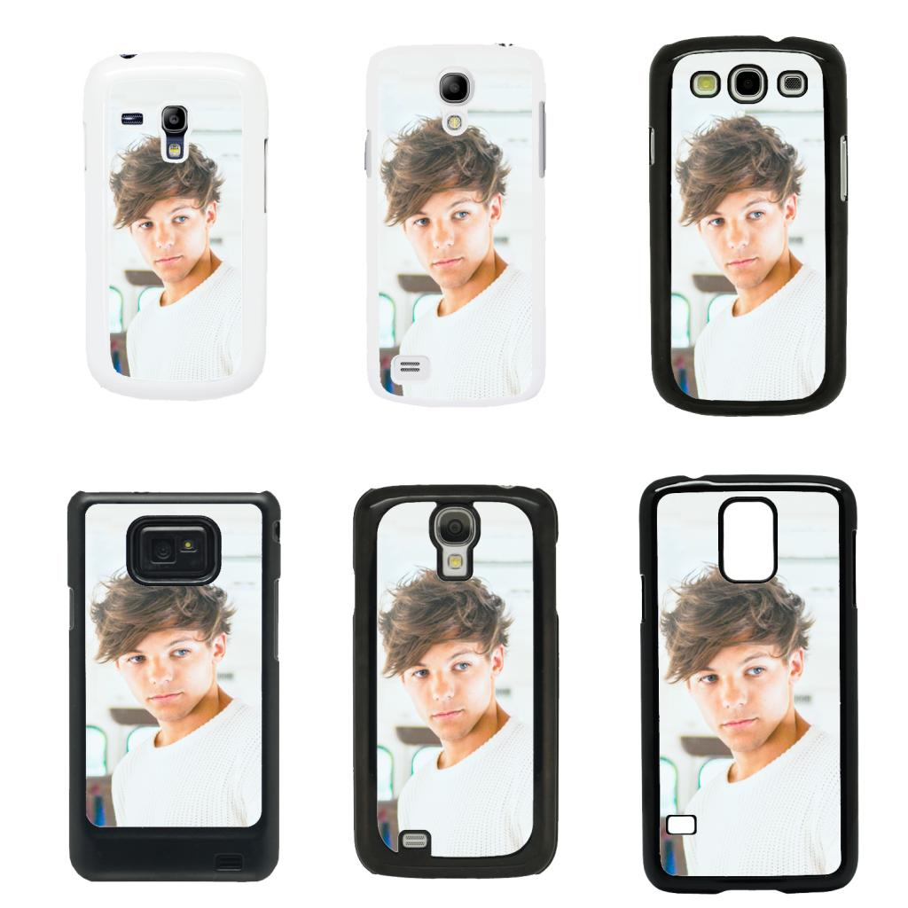 One Direction 1D cover case for Samsung Galaxy S2 S3 S4 S5 Mini - T36