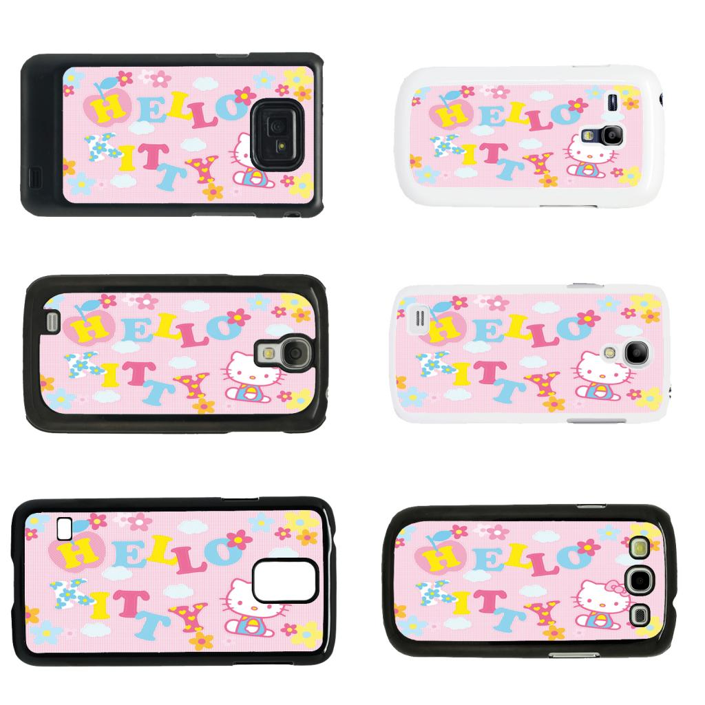 Hello Kitty #P Phone Case + Protector For Samsung Galaxy ... |Samsung Galaxy S3 Mini Case Hello Kitty