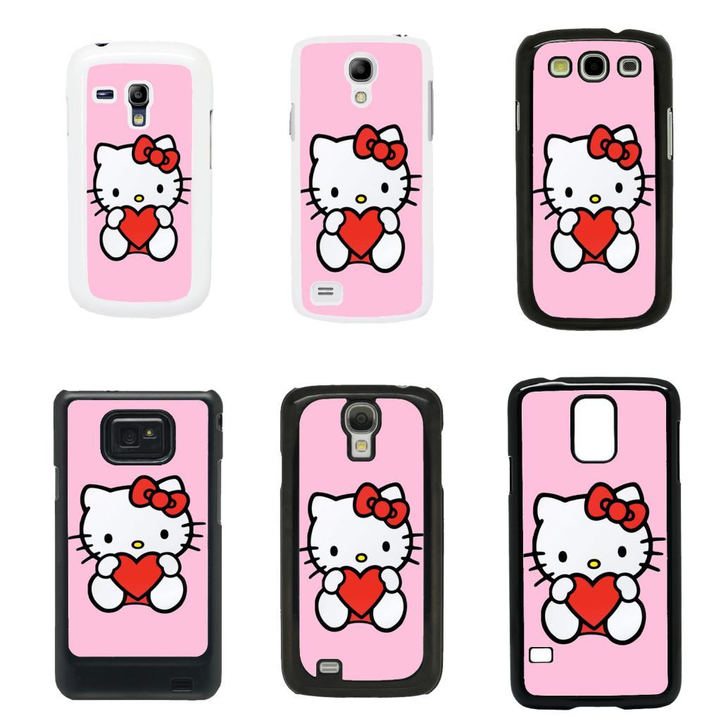 Carcasa Samsung Galaxy s3 mini i8190 Funda hello kitty ... |Samsung Galaxy S3 Mini Case Hello Kitty