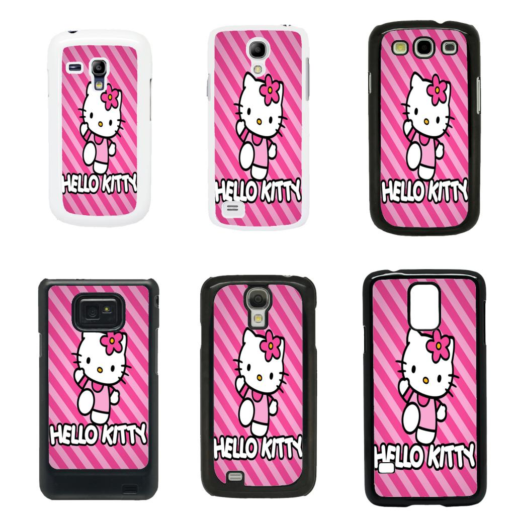 HAMEINUO Fashionable Hello Kitty cell phone case cover for ... |Samsung Galaxy S3 Mini Case Hello Kitty